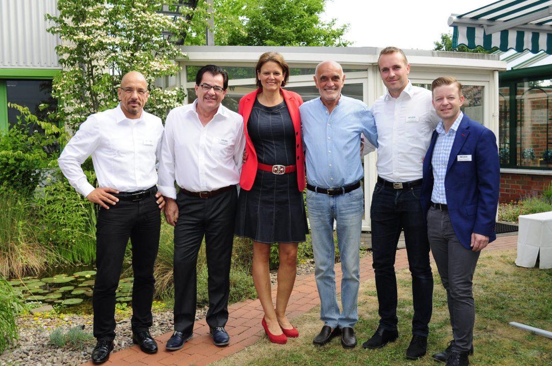 Das Team der Firma Heuer