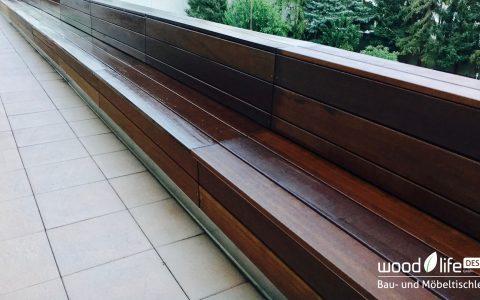 Holzbank Terassengestaltung - Wood Life Design - Bau- und Möbeltischlerei, Hannover
