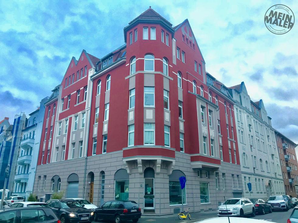 Fassadensanierung Maler Hannover Fassadenrenovierung Fassadengestaltung 001