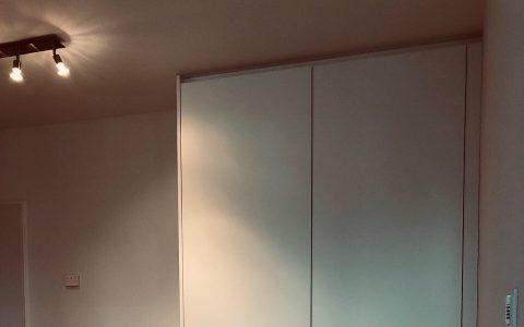 Garderobe mit indirekter LED Beleuchtung Tischlerei Hannover