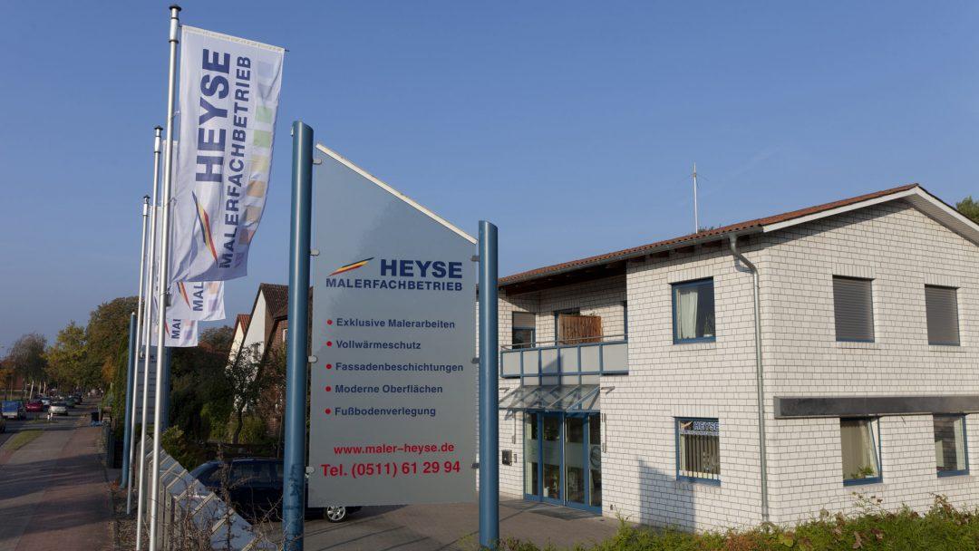 Malerfachbetrieb Heyse Hannover Firmengebäude 1