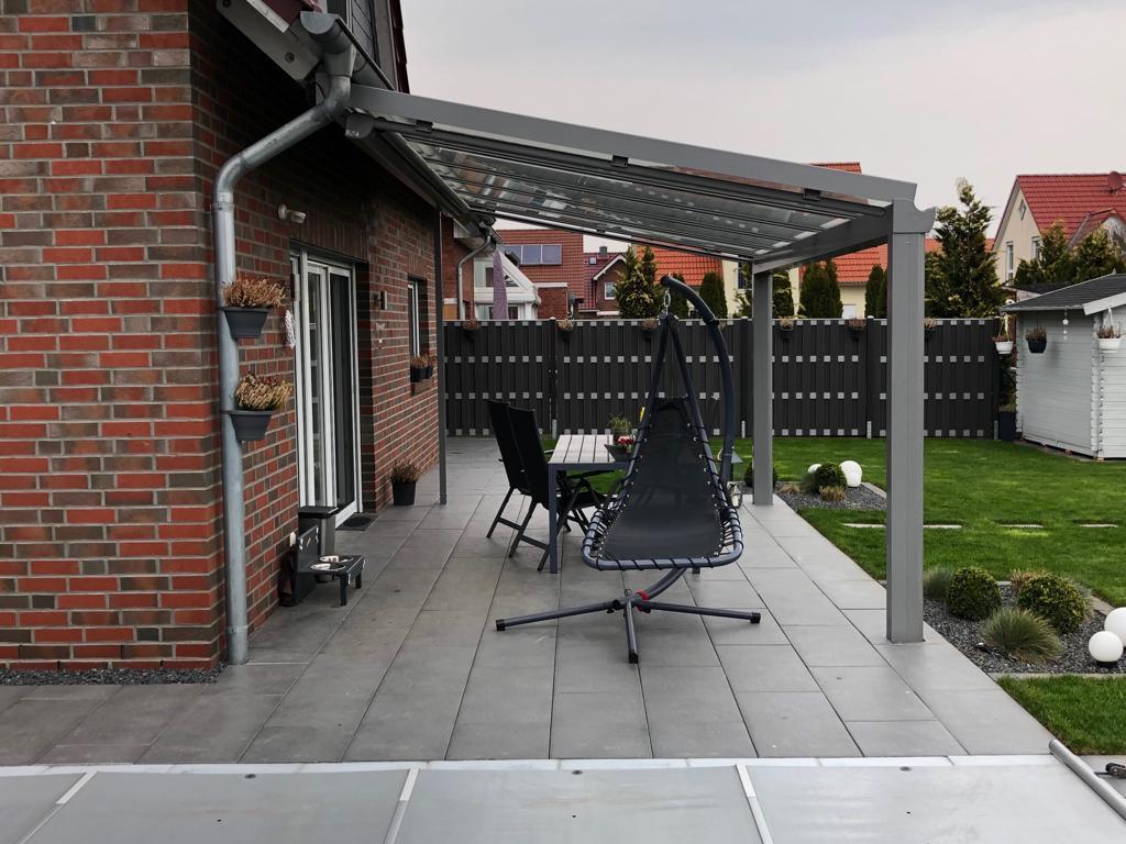 Terrassendach Wintergarten Ueberdachung Terrasse Verglasung Hannover 01