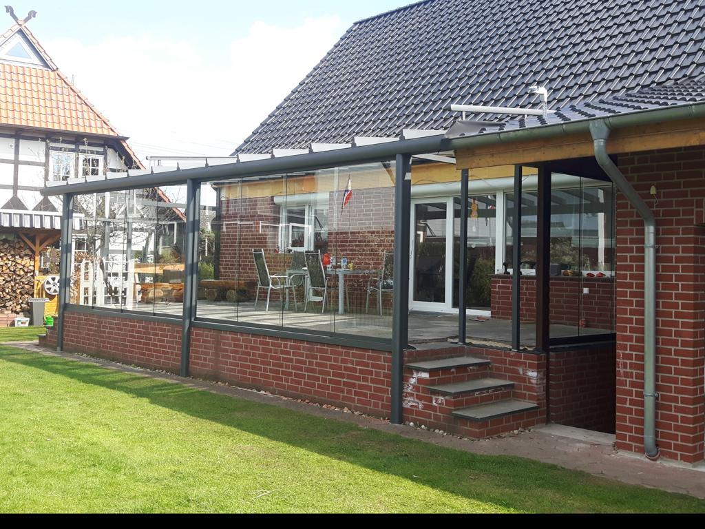 Terrassendach Wintergarten Ueberdachung Terrasse Verglasung Hannover 06