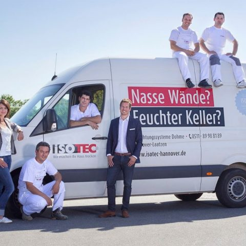 ISOTEC Fachbetrieb Region Hannover Abdichtungssysteme Wasserschadensanierung Mauertrockenlegung 04