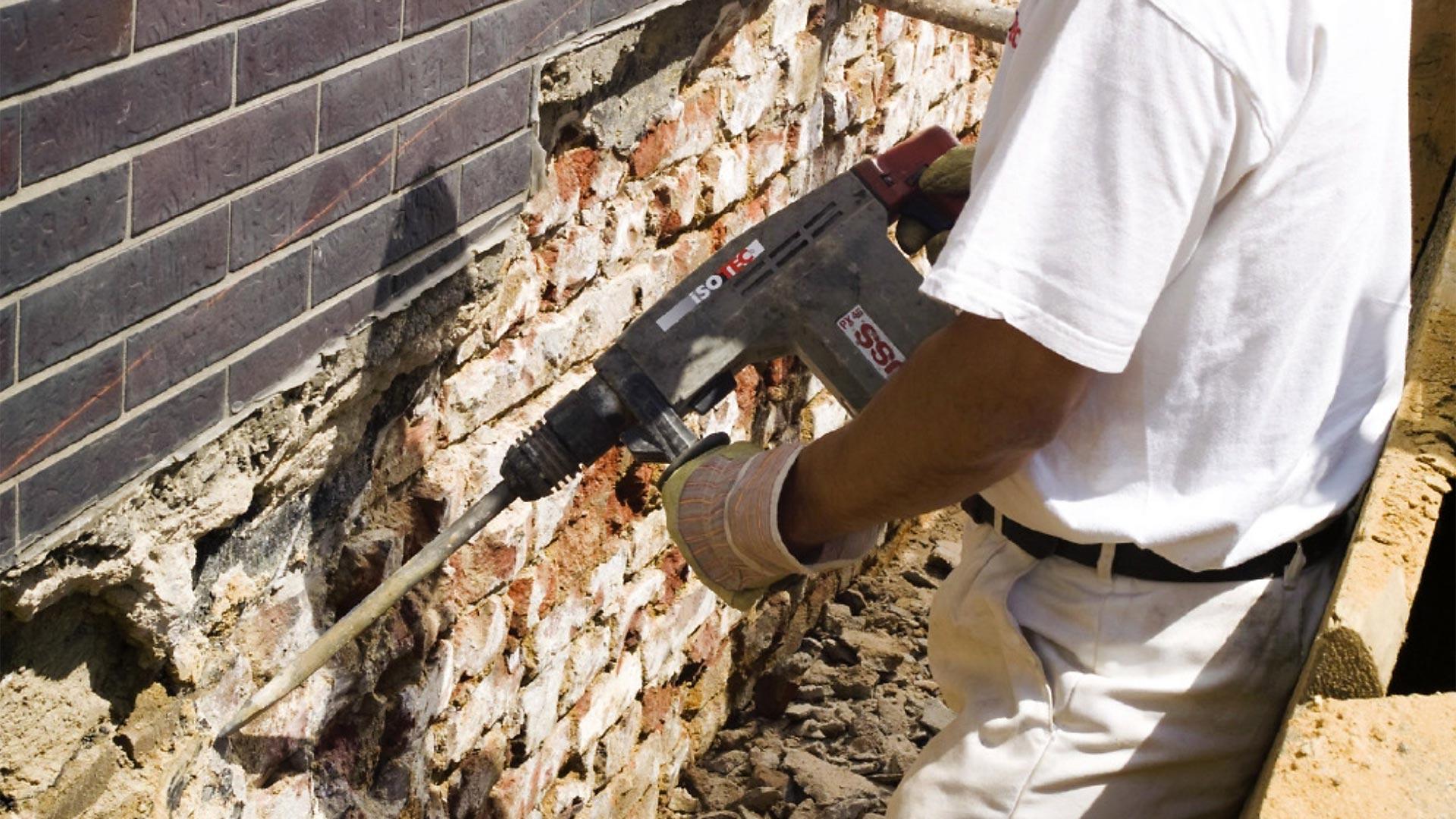 ISOTEC Fachbetrieb Region Hannover Abdichtungssysteme Wasserschadensanierung Mauertrockenlegung 09