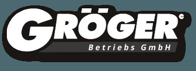 groeger logo 400x200 betriebslogo weiss