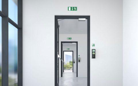 Sicherheitstechnik Hannover Zeiterfassung Zutrittskontrolle Fluchtweg