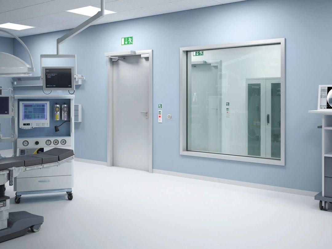 Sicherheitstechnik Hannover Zeiterfassung Zutrittskontrolle Fluchtweg Krankenhaus