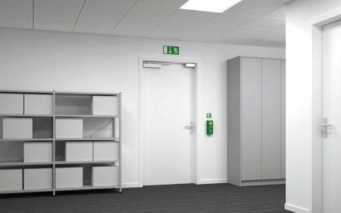 Sicherheitstechnik Hannover Zeiterfassung Zutrittskontrolle Fluchtweg Shop