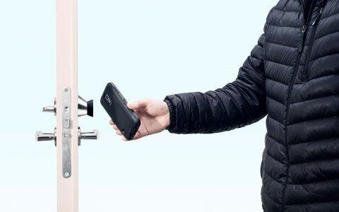 Zeiterfassung Zutrittskontrolle Sicherheitstechnik Hannover Zutrittskontrolle Smartphone
